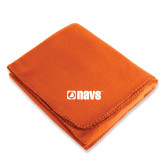 Orange Arctic Fleece Blanket-NAVS