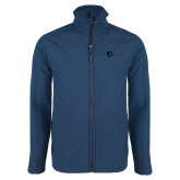 Navy Softshell Jacket-The Navigators Tone
