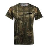 Realtree Camo T Shirt-NAVS