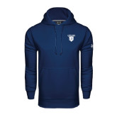 Under Armour Navy Performance Sweats Team Hoodie-Glen Eyrie
