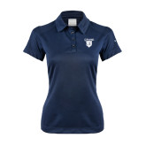 Ladies Nike Dri Fit Navy Pebble Texture Sport Shirt-Glen Eyrie
