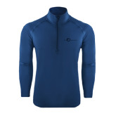 Sport Wick Stretch Navy 1/2 Zip Pullover-The Navigators Tone
