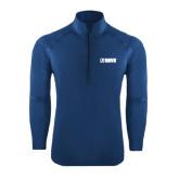 Sport Wick Stretch Navy 1/2 Zip Pullover-NAVS