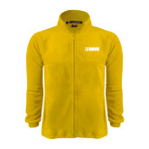 Fleece Full Zip Gold Jacket-NAVS