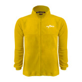 Fleece Full Zip Gold Jacket-Eagle Lake