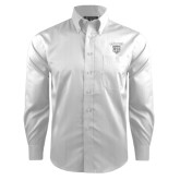 Red House White Dobby Long Sleeve Shirt-Glen Eyrie Tone
