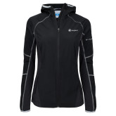 Columbia Ladies Sweet As Black Hooded Jacket-Navigators