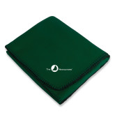 Dark Green Arctic Fleece Blanket-The Navigators