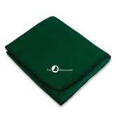 Dark Green Arctic Fleece Blanket-The Navigators