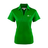 Ladies Kelly Green Performance Fine Jacquard Polo-The Navigators