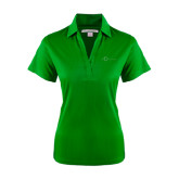 Ladies Kelly Green Performance Fine Jacquard Polo-The Navigators Tone