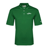 Under Armour Dark Green Performance Polo-Eagle Lake