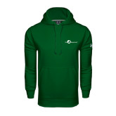 Under Armour Dark Green Performance Sweats Team Hoodie-The Navigators