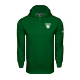 Under Armour Dark Green Performance Sweats Team Hood-Glen Eyrie