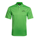 Nike Dri Fit Vibrant Green Pebble Texture Sport Shirt-Eagle Lake Tone