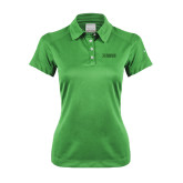 Ladies Nike Dri Fit Vibrant Green Pebble Texture Sport Shirt-NAVS Tone