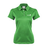 Ladies Nike Dri Fit Vibrant Green Pebble Texture Sport Shirt-NCM - Navigator Church Ministries