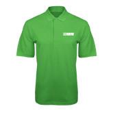 Kelly Green Easycare Pique Polo-NAVS