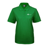 Ladies Easycare Kelly Green Pique Polo-The Navigators