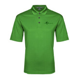 Kelly Green Performance Fine Jacquard Polo-The Navigators Tone
