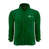 Fleece Full Zip Dark Green Jacket-The Navigators