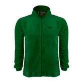 Fleece Full Zip Dark Green Jacket-The Navigators Tone