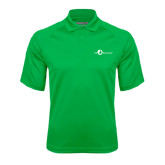 Kelly Green Textured Saddle Shoulder Polo-The Navigators