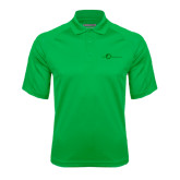 Kelly Green Textured Saddle Shoulder Polo-The Navigators Tone
