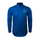 Royal Twill Button Down Long Sleeve-The Navigators