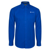 Royal Twill Button Down Long Sleeve-Navigators