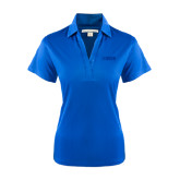 Ladies Royal Performance Fine Jacquard Polo-NAVS Tone