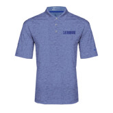 Nike Golf Dri Fit Royal Heather Polo-NAVS Tone