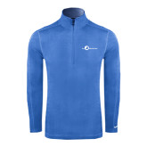 Nike Sphere Dry 1/4 Zip Light Blue Cover Up-The Navigators