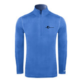 Nike Sphere Dry 1/4 Zip Light Blue Cover Up-The Navigators Tone