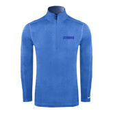 Nike Sphere Dry 1/4 Zip Light Blue Cover Up-NAVS Tone