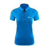 Ladies Ogio Sapphire Blue Pleated Back Polo-The Navigators