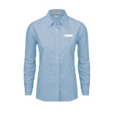 Ladies Light Blue Oxford Shirt-NAVS