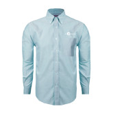 Mens Light Blue Oxford Long Sleeve Shirt-The Navigators