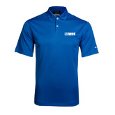 Nike Dri Fit Royal Pebble Texture Sport Shirt-NAVS Tone
