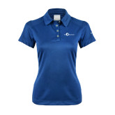 Ladies Nike Dri Fit Royal Pebble Texture Sport Shirt-The Navigators Tone