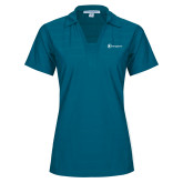 Ladies Sapphire Horizontal Textured Polo-Navigators