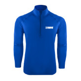 Sport Wick Stretch Royal 1/2 Zip Pullover-NAVS