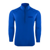 Sport Wick Stretch Royal 1/2 Zip Pullover-NAVS Tone