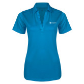 Ladies Brilliant Blue Silk Touch Performance Polo-Navigators