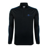 Nike Golf Dri Fit 1/2 Zip Black/Royal Cover Up-The Navigators Tone