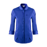 Ladies Red House French Blue 3/4 Sleeve Shirt-The Navigators Tone