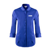 Ladies Red House French Blue 3/4 Sleeve Shirt-NAVS