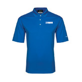 Nike Golf Dri Fit Royal Micro Pique Polo-NAVS Tone