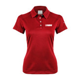 Ladies Nike Dri Fit Red Pebble Texture Sport Shirt-NAVS Tone
