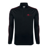 Nike Golf Dri Fit 1/2 Zip Black/Red Cover Up-The Navigators Tone